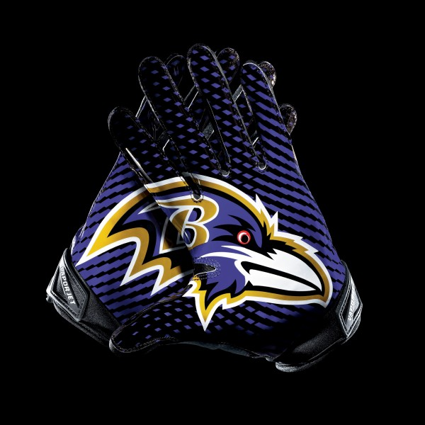 C039 Baltimore Ravens Gloves